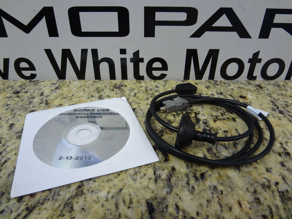 11 13 Chrysler Dodge Jeep iPod Interface Wiring Kit Uconnect USB Harness Mopar