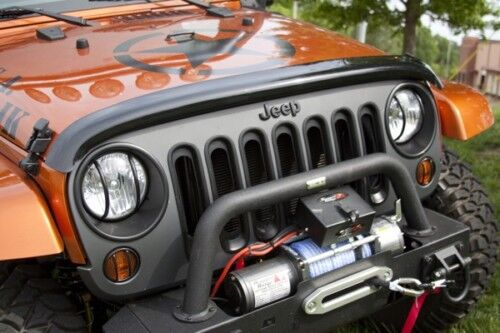 11350.02 Rugged Ridge Hood Bug / Stone Deflector JEEP Wrangler JK 07-12