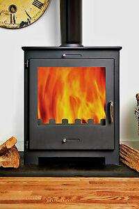 BACK BOILER Contemporary Woodburning Stove Stoves Multi fuel | eBay