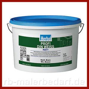 12-5-Liter-Herbol-Profi-DIN-weiss-Wandfarbe-Innenfarbe-Innenweiss