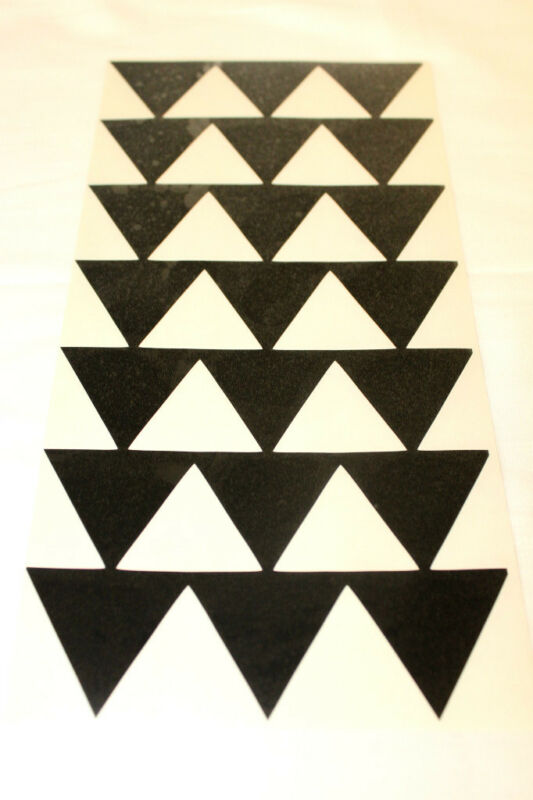 12 black hawaiian hawaii tribal triangle arrows vinyl car window decal sticker ebay. Black Bedroom Furniture Sets. Home Design Ideas