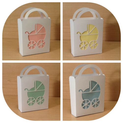 12 Baby Shower Party Favor Gift Bag (Stroller) in Home & Garden, Greeting Cards & Party Supply, Party Supplies | eBay