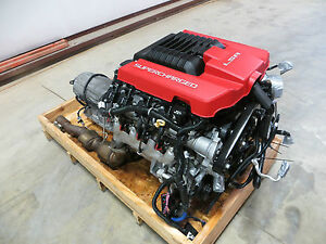 12 Camaro Zl1 Lsa 6 2l Engine 12k Automatic Complete