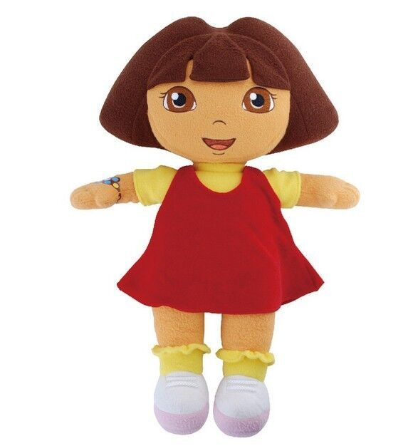 Details about DORA THE EXPLORER Kids Girls Soft Cuddly Stuffed Plush ...: http://www.ebay.co.uk/itm/DORA-THE-EXPLORER-Kids-Girls-Soft-Cuddly-Stuffed-Plush-Toy-Doll-RED-DORA-/380763236648
