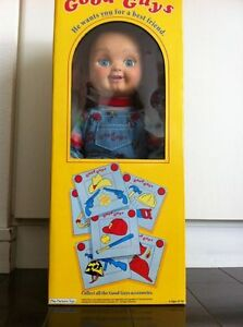 Childs Play Good Guy Doll http://www.ebay.com/itm/12-Dream-Rush-Childs-Play-good-guy-doll-Chucky-prop-/221232808180