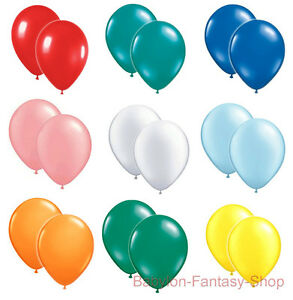 "12"" Latex Balloons - Helium Quality - Many Colours - Party"