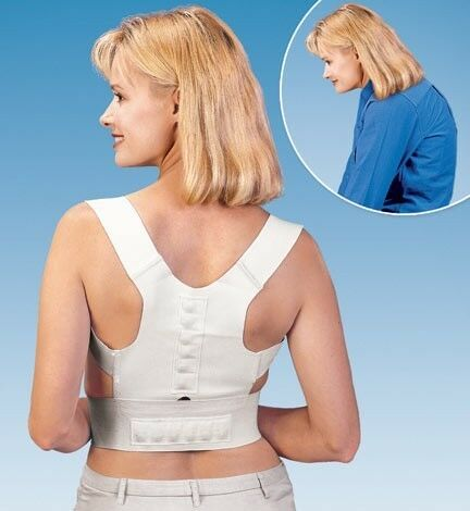12 Magnet Correct Posture Support Brace Mens Size Upper Back Pain Relief therapy in Health & Beauty, Medical, Mobility & Disability, Braces & Supports | eBay