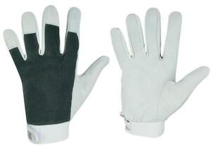 12-Paar-Lederhandschuhe-Montagehandschuhe-Arbeitshandschuhe-aus-Nappaleder-Gr10