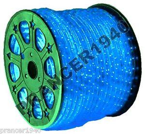 12 volt dc blue new led rope lights home lighting ebay. Black Bedroom Furniture Sets. Home Design Ideas