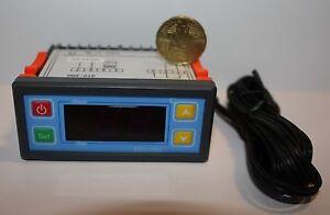 12-Volt-10-A-Temperaturregler-PID-Regler-mit-Sensor-40-100-Grad-Aquaristik