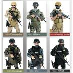 12 inch 300 mm 1/6 Uniform militair leger soldaat set Mod...