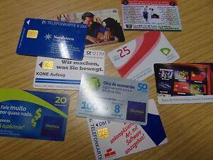 12-verschiedene-Telefonkarten-Cards