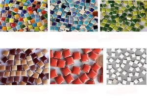 120 mosaiksteine 1x1cm mosaik fliesen keramikmosaik frostsicher ihre farbauswahl ebay. Black Bedroom Furniture Sets. Home Design Ideas