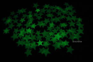 120+ Piece Radiant Green Glow in the Dark Stars in Home & Garden, Kids & Teens at Home, Bedroom, Playroom & Dorm Decor | eBay