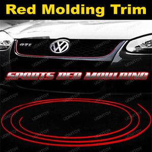 120 universal car interior exterior molding trim red. Black Bedroom Furniture Sets. Home Design Ideas