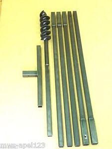 120-mm-Erdbohrer-Saetze-Erdlochbohrer-Handbohrer-Brunnenbohrer-Erdbohrgeraet