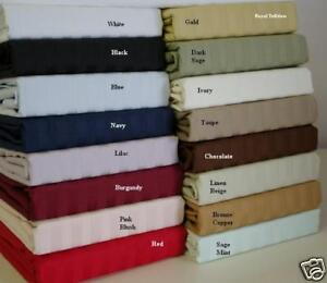 1200 COUNT - 100% EGYPTIAN COTTON DEEP POCKET SHEET SET in Home & Garden, Bedding, Sheets & Pillowcases | eBay