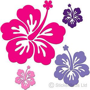 Car stickers flowers
