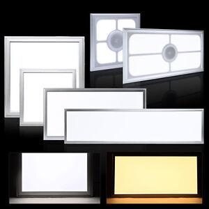 60x60 60x30 30x30cm led panel einbau deckenleuchte lampe dimmbar rgb. Black Bedroom Furniture Sets. Home Design Ideas