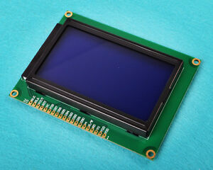 12864-Dot-Matrix-Graphic-LCD-Display-Module-LCM-Blue-Backlight-128X64-128-64-DE