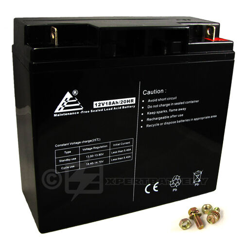 12V 12 Volt 18AH Sealed Lead Acid Battery for Modified Power Wheels in Consumer Electronics, Multipurpose Batteries & Power, Rechargeable Batteries | eBay