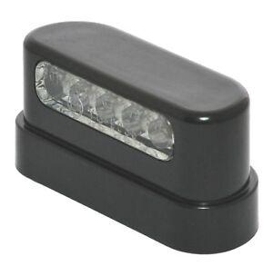 12v led kennzeichen nummernschild beleuchtung schwarz universal auto anh nger. Black Bedroom Furniture Sets. Home Design Ideas