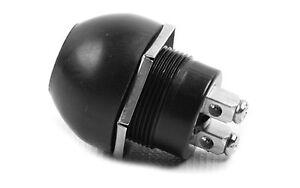 12V-Schalter-Drucktaster-spritzwassergeschuetzt-Taster-Tastschalter-Hupenknopf