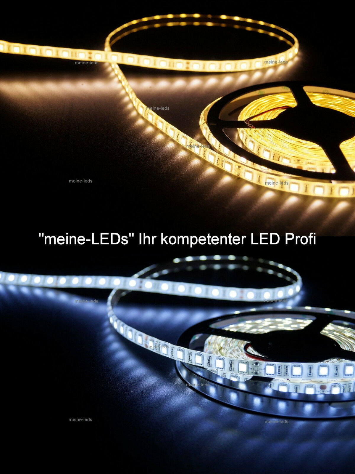 1 10m led streifen strip leiste warmweiss kaltweiss weiss smd3528 und smd5050 ebay. Black Bedroom Furniture Sets. Home Design Ideas