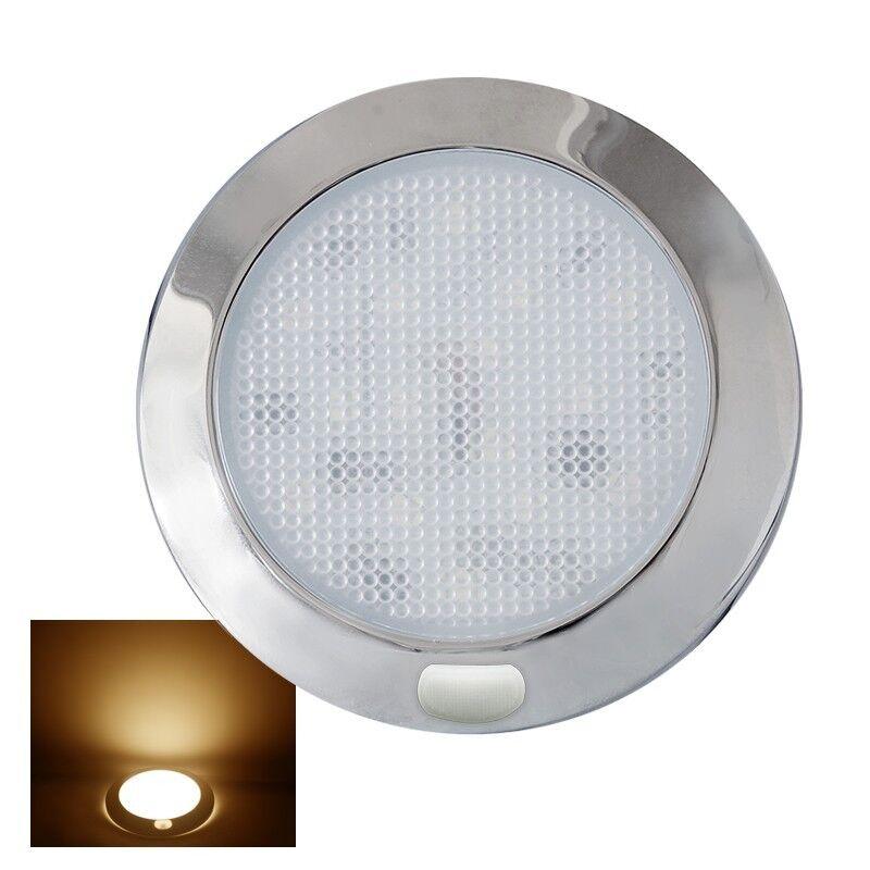 12V LED Deckenlampe Wandleuchte Innenraumleuchte Schalter Wohnmobil ...