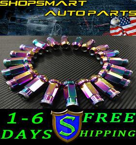 2012 Acura on Steel Tuner Lug Nut Set 20 Acura Tl Cl Rsx Tsx Rl 2002 2012   Ebay