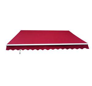 12 039 X10 039 Outdoor Patio Deck Manual Retractable Sun
