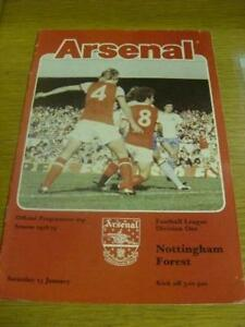 13-01-1979-Arsenal-v-Nottingham-Forest-Folded-Team-C