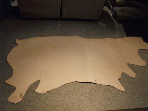 13/15oz Natural Veg Tan Saddle Skirting Strap Belt Cowside Leather-20+Sq. Ft. in Crafts, Home Arts & Crafts, Leathercraft | eBay