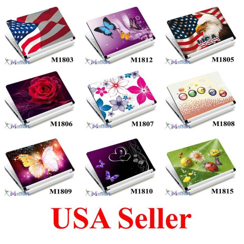 15.4 14 Laptop Skin Sticker Notebook Decal Cover M104