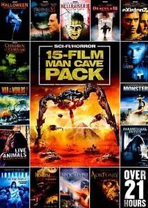 15-Film Man Cave Pack: Sci-Fi Horror, Vo...
