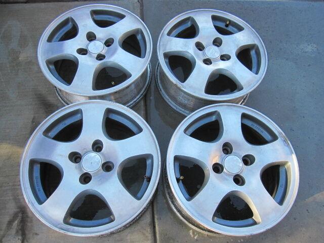 Acura Integra Fat 5 Genuine Factory Alloy Wheels Rims 15 Civic