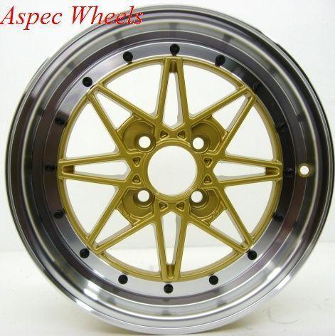 15 Rota SA Racing Rim Wheels 4x100 Civic CRX XA XB Fit