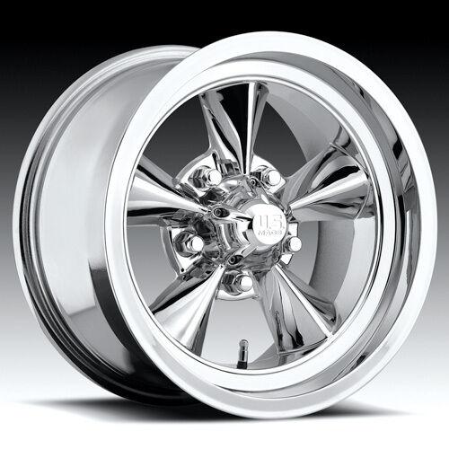 Wheel Set FOOSE Style Rims Chrome 15 Wheels Torque Thrust