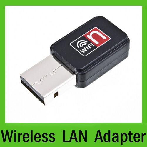 Mini USB WiFi Wireless Adapter Network LAN Card 802 11n g b for Laptop