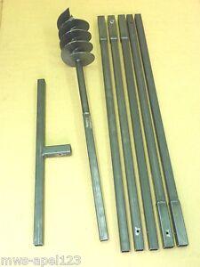 150-mm-Erdbohrer-Saetze-Erdlochbohrer-Handbohrer-Brunnenbohrgeraet-Erdbohrgeraet