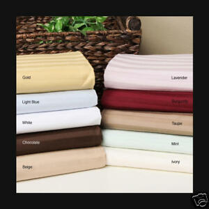 1500 THREAD COUNT EGYPTIAN COTTON SHEET SET 1500TC ( Model # EB806005 ) in Home & Garden, Bedding, Sheets & Pillowcases | eBay