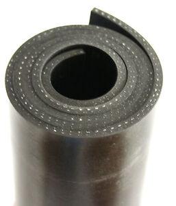 1500x100x3mm-mit-Gewebe-Gummiauflage-Gummistreifen-Gummi-Gummiplatte-Gummimatte