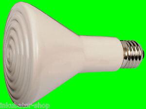 150W-Elsteinstrahler-Waermebirne-Keramiklampe-Dunkelstrahler-Waermelampe-Inkubator