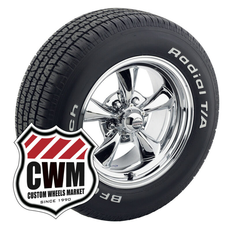 Chrome Wheels Rims Tires 225/60R15 245/60R15 for Buick Regal 73 81
