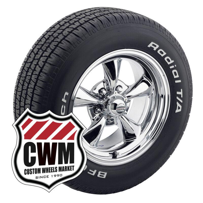 15x7 15x8 Chrome Wheels Rims Tires 235 60R15 255 60R15 for Olds