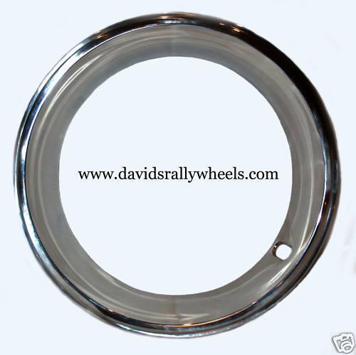 15x7 Pontiac Chevy Camaro Vette Rally Wheel Trim Rings