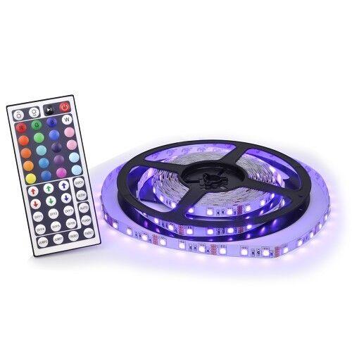 16' 12V 300-Color Changing LED Flexible Light Strip w/Remote Decorative Lights in Home & Garden, Lamps, Lighting & Ceiling Fans, String Lights, Fairy Lights | eBay