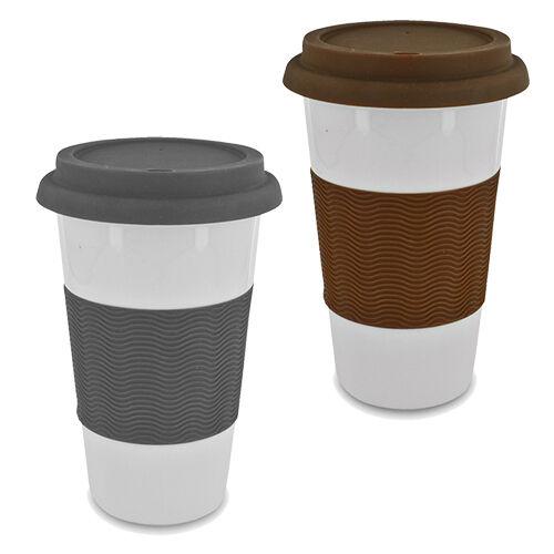 16 Oz Ceramic Eco Travel Coffee Mug Ebay