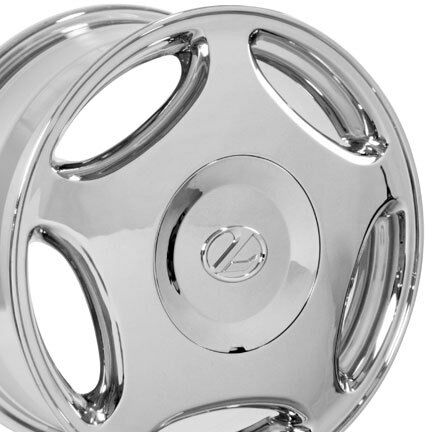 16 Rims Fit Lexus LS Style Wheels Chrome Set