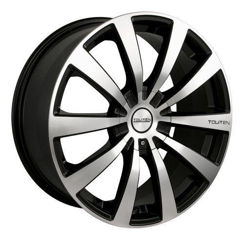 "16"" Touren TR3 Black Wheels Rims 5x4 5 5x100 5 Lug Honda Acura Nissan Toyota VW"